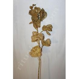 Золотая ветка Орхидея
