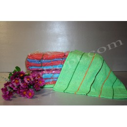 Полотенце махровое (клетка)