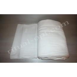 """Ткань полотенечная """"Вафля"""" белая"""