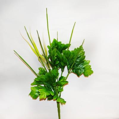 Нога букетная с листом хризантемы